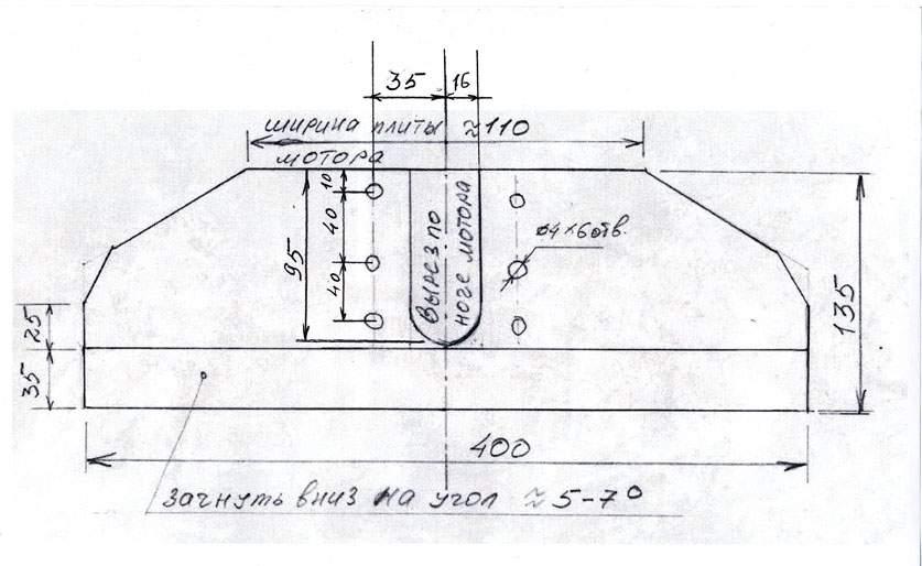 Гидрокрыло для подвесных лодочных моторов своими руками 99