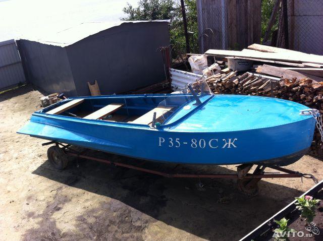 покраска старой лодки