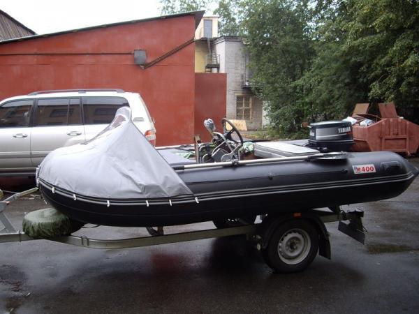 тент на лодку профмарин 380