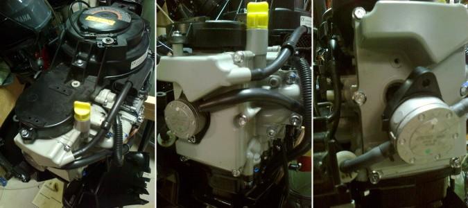 регулировка клапанов на лодочном моторе сузуки 5 4 тактный