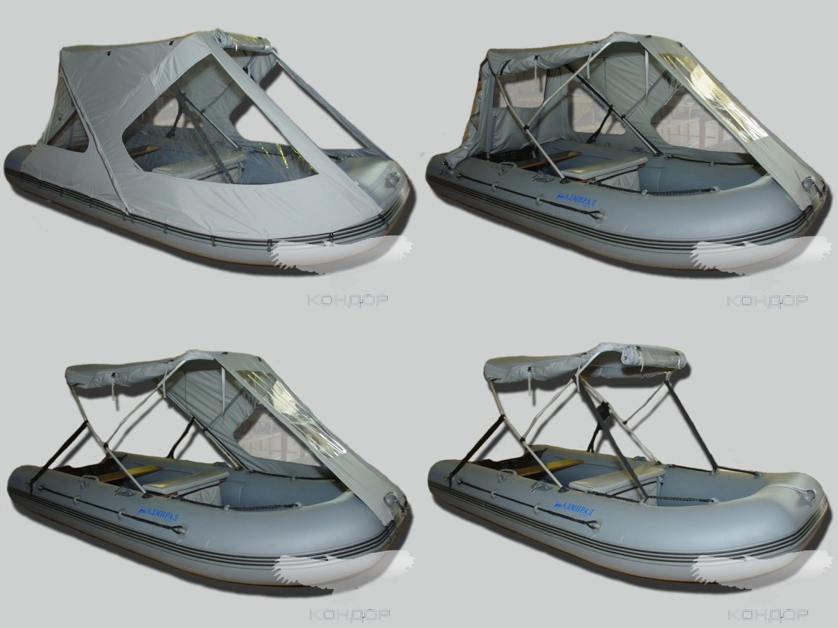 тент ходовой на лодку пвх reef 360 тритон