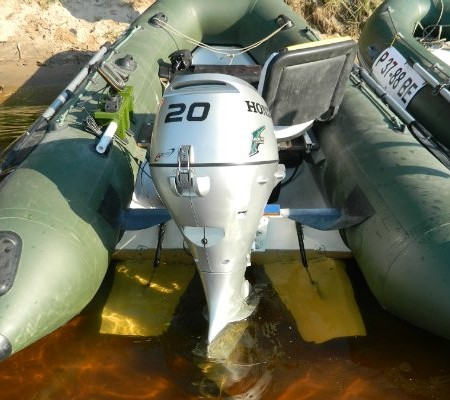 крылья на транец для лодки пвх