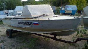 """Моторная лодка """"Прогресс-3М"""" Фото-1"""