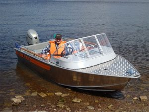 Лодка Вельбот-45, фото-1