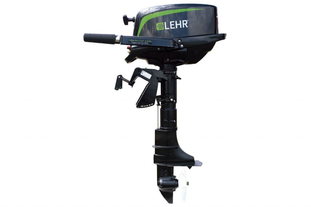Четырехтактный лодочный мотор Lehr 5hp Propane