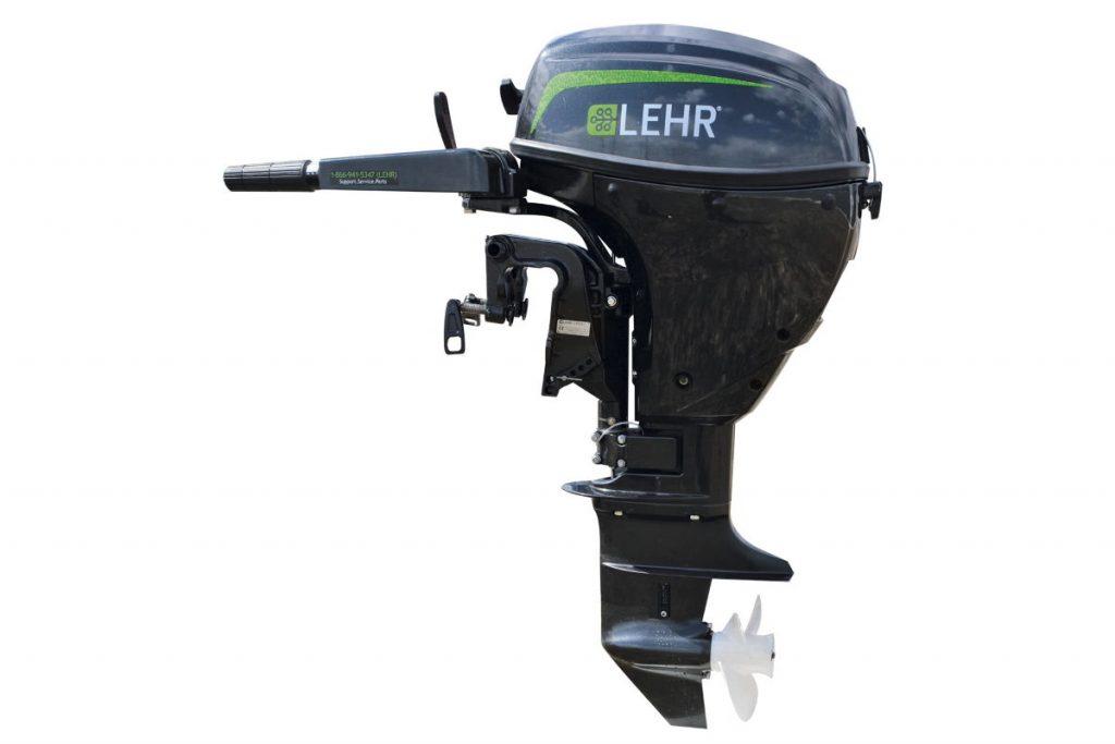 Четырехтактный газовый лодочный мотор Lehr 9.9 Propane