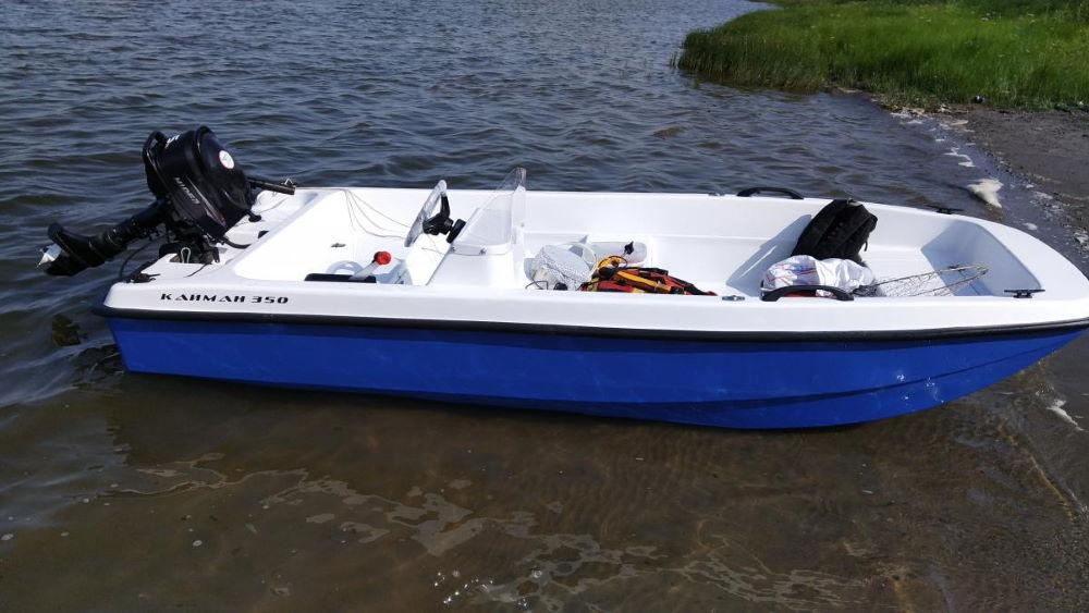 """Моторная лодка """"Кайман-350"""""""