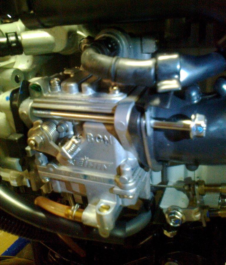 Разборка и регулировка карбюратора лодочного мотора